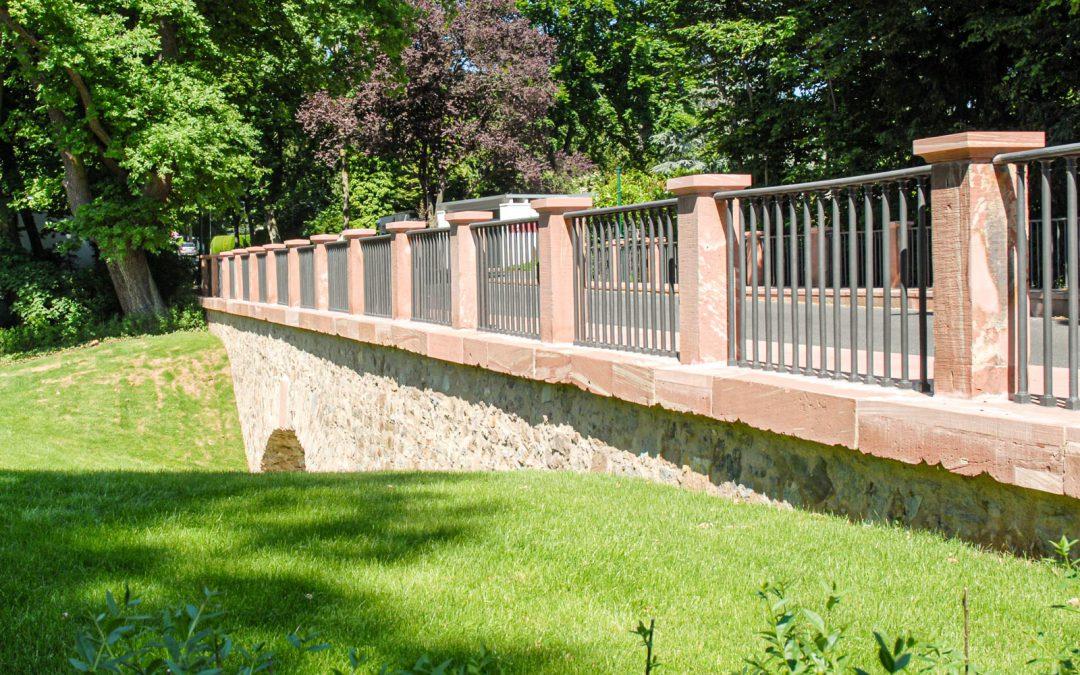 Denkmalgerechte Sanierung & Rekonstruktion der Carolinenbrücke