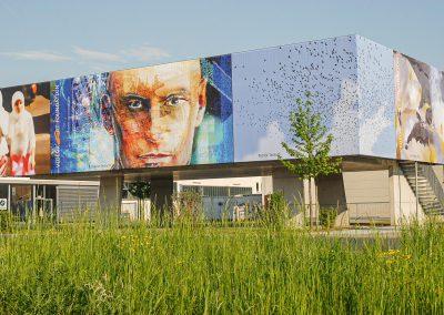 Kleines Schaulager /  Depot für Kunst