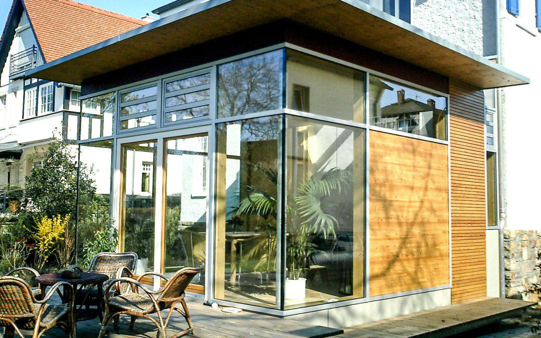 Wohnhaus-Erweiterung